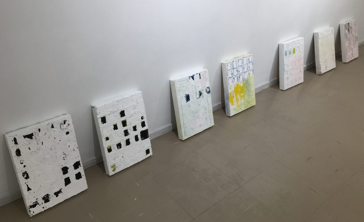 Installation view, Galleria Harmaja, Oulu, 2018