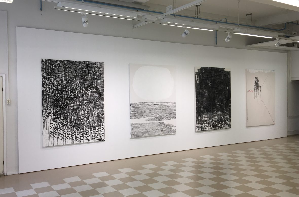 Installation view, Galleria Harmaja, Oulu, 2018