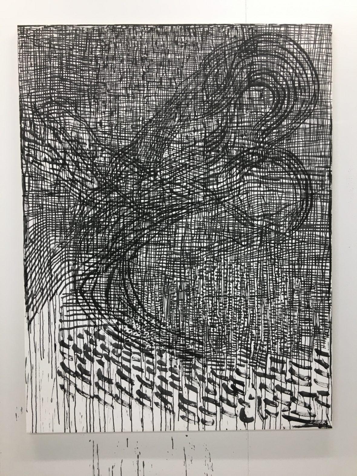 Vortex, 190x145 cm, akryylii 2018